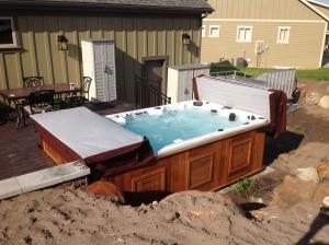 arctic swim spa delivery